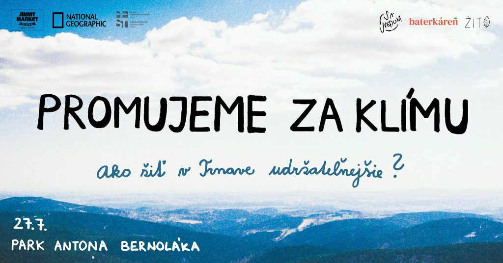 promujeme za klimu trnava zerowaste banner