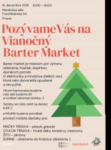 vianocny barter market trnava charita