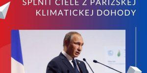putin klimaticke ciele parizska dohoda